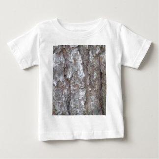 Pine Tree Bark Camo Natural Wood Camouflage Nature Baby T-Shirt