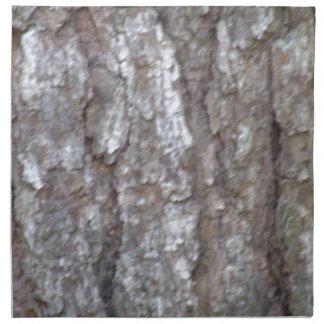 Pine Tree Bark Camo Natural Wood Camouflage Nature Napkin