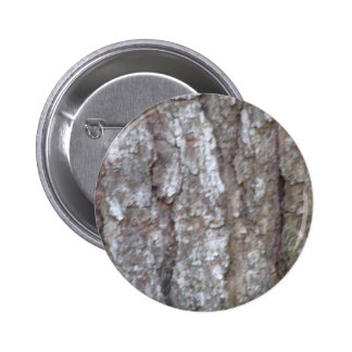 Pine Tree Bark Camo Natural Wood Camouflage Nature Pinback Button