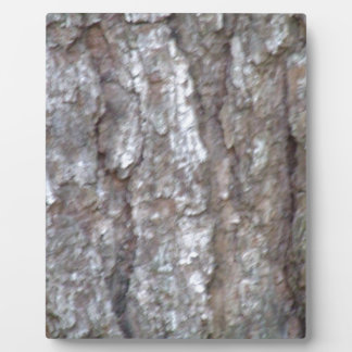 Pine Tree Bark Camo Natural Wood Camouflage Nature Plaque