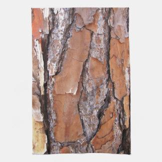 Pine Tree Bark Kitchen Towel