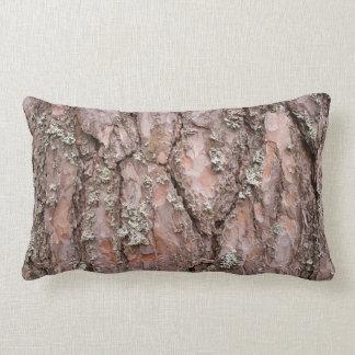 Pine tree bark pillow