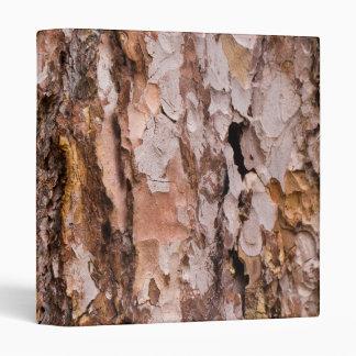 Pine tree bark texture binder