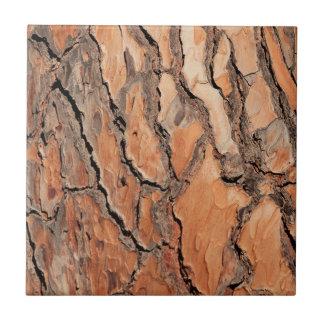 Pine Tree Bark Texture Ceramic Tile