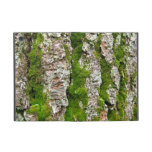 Pine Tree Bark With Moss Case For iPad Mini