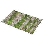 Pine Tree Bark With Moss Placemat
