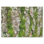 """Pine Tree Bark With Moss Tissue Paper 17"""" X 23"""" Tissue Paper"""