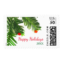 Pine Tree Branch - Postage Stamp