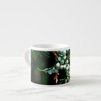Pine Tree Branch Espresso Mugs