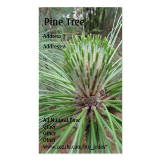 Pine Tree Business Card Template