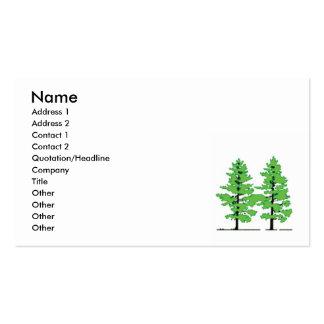 Pine Tree business card
