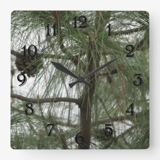 Pine Tree Clock