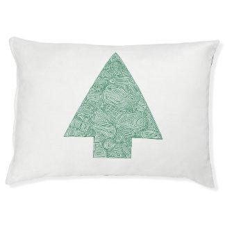 Pine Tree Dog Bed