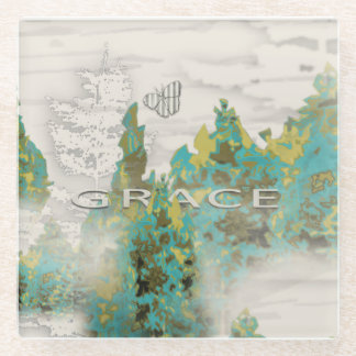 Pine Tree Grace Coaster