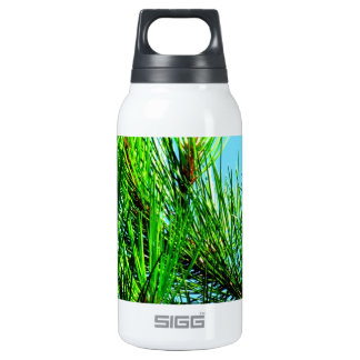 Pine Tree Insulated Water Bottle