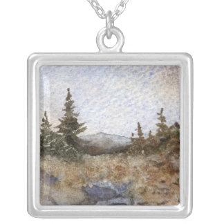 Pine Tree Necklace