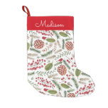 Pine Tree Pattern | Holiday | Christmas Stocking