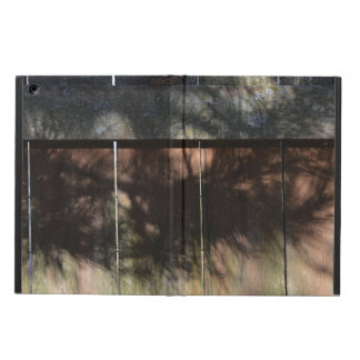 Pine Tree Shadows On Wood Cedar Fence Case For iPad Air