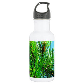 Pine Tree Stainless Steel Water Bottle