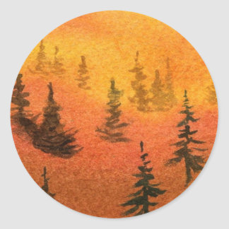 Pine Tree Sticker