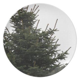 Pine Tree Top Dinner Plate