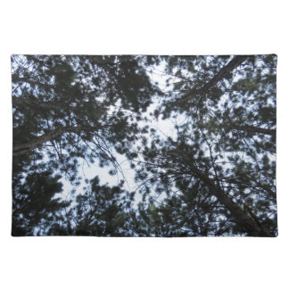 Pine Tree Top Forest Placemats