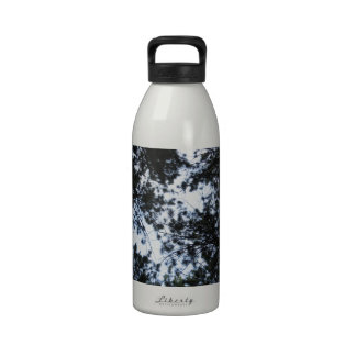Pine Tree Top Forest Water Bottles