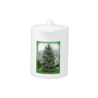Pine Tree with Green Matte