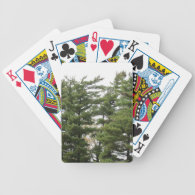 Pine Trees Bicycle Playing Cards