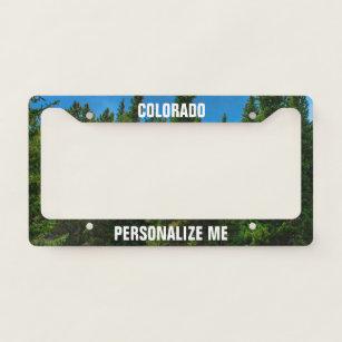 colorado license plate frames covers zazzle