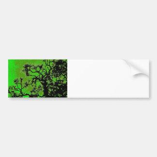 Pine trees bumper sticker