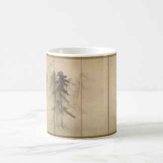 Pine Trees by Hasegawa Tohaku 16th Century Coffee Mug