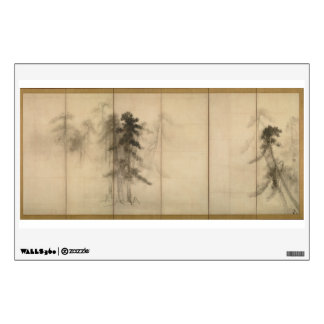 Pine Trees by Hasegawa Tohaku 16th Century Wall Sticker