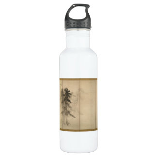 Pine Trees by Hasegawa Tohaku 16th Century Water Bottle