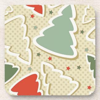 Pine Trees Drink Coaster