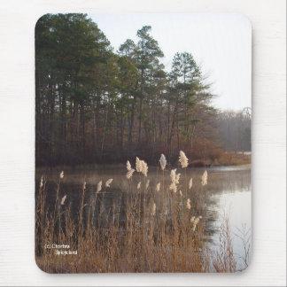 Pine Trees Lake Mousepad