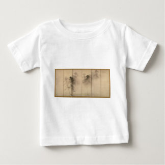 Pine Trees Left Hand Screen by Hasegawa Tohaku Baby T-Shirt