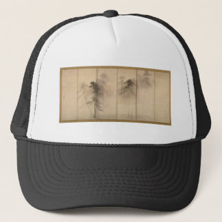 Pine Trees Left Hand Screen by Hasegawa Tohaku Trucker Hat