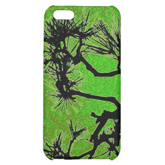 Pine trees , with fresh green tea colors iPhone 5C covers