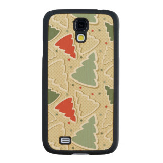 Pine Trees Carved® Maple Galaxy S4 Slim Case