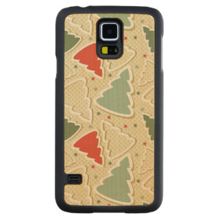 Pine Trees Carved® Maple Galaxy S5 Case