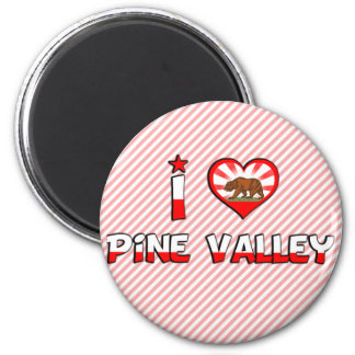 Pine Valley, CA Magnets