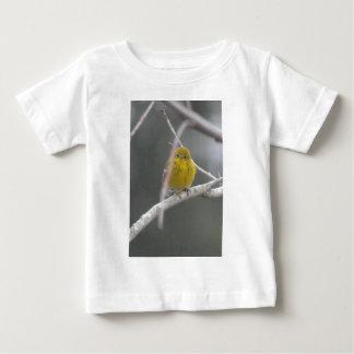 Pine Warbler Bird Nature Peek A Boo Baby T-Shirt