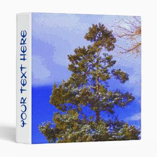 Pine with Pixelated Sky binder