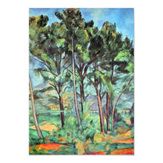 Pine with Viaduct by Paul Cezanne, Vintage Art Card