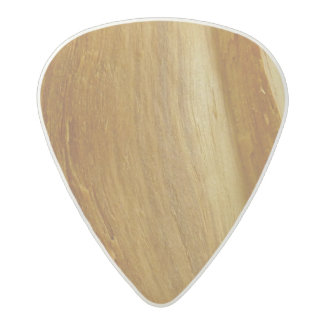 Pine Wood II Faux Wooden Texture Acetal Guitar Pick