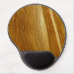 Pine Wood II Faux Wooden Texture Gel Mouse Pad
