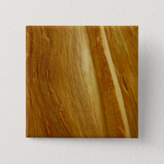 Pine Wood II Faux Wooden Texture Pinback Button