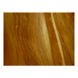 Pine Wood II Faux Wooden Texture Poster