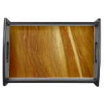 Pine Wood II Faux Wooden Texture Serving Tray
